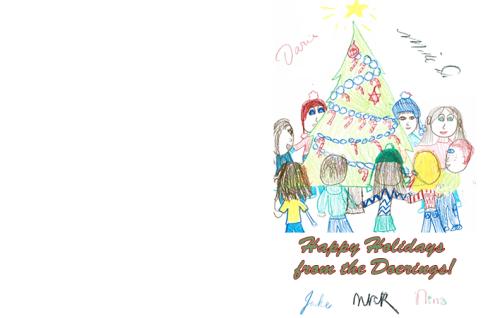 Christmas Letter Art c 2004